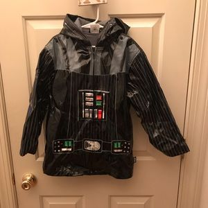 Darth Vader Raincoat size 5/6